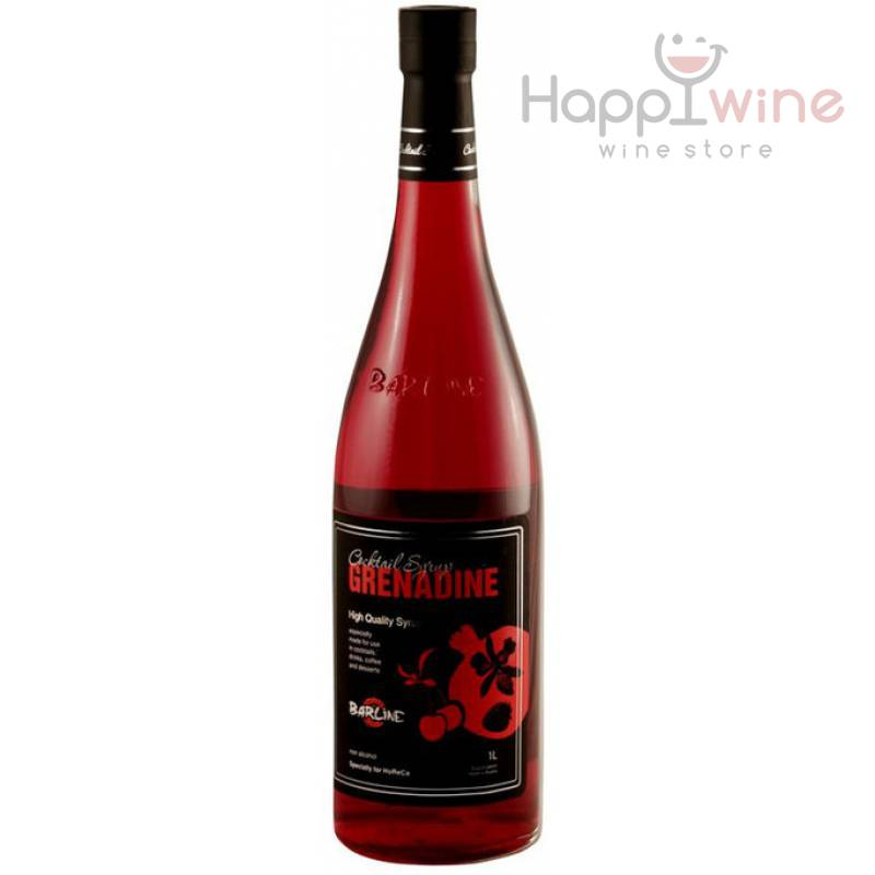 Barline Grenadine ( гренадин, с соком граната и малины) 1,0л ООО Свит Лайф - АРХИВ!!!