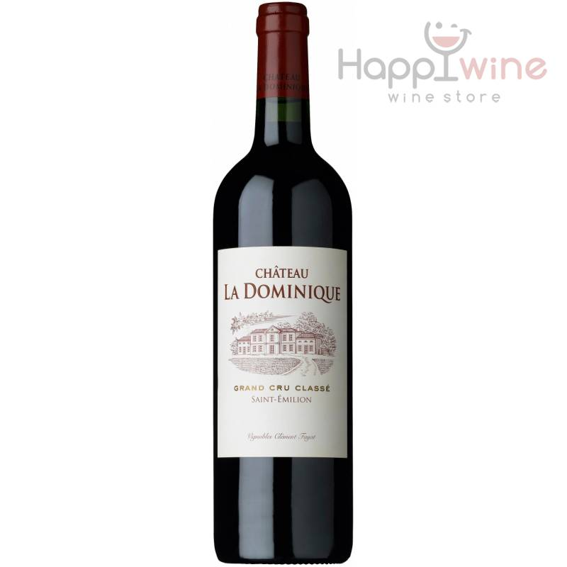 Chateau La Dominique, ( Шато Ля Доминик ) 2009 0,75 л Chateau La Dominique - АРХИВ!!!