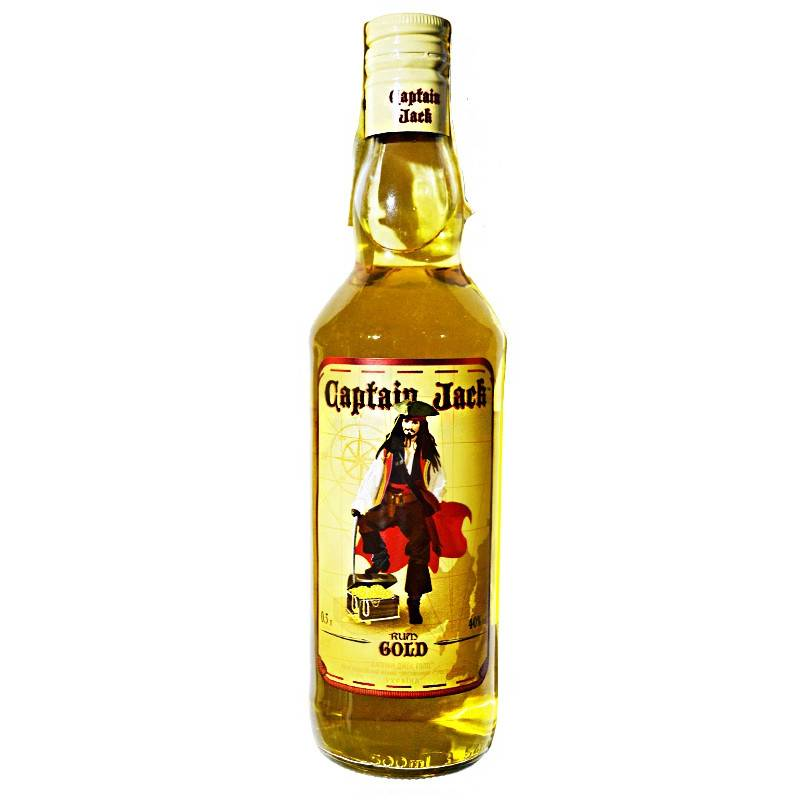 Capitain Jack Gold ( 0,5л ) ООО Симферопольский ВКЗ - АРХИВ!!!