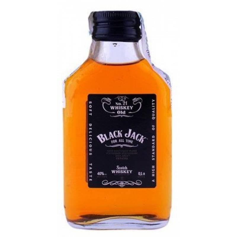 BLACK JACK SILVER ( 0,1л ) ООО Симферопольский ВКЗ - АРХИВ!!!