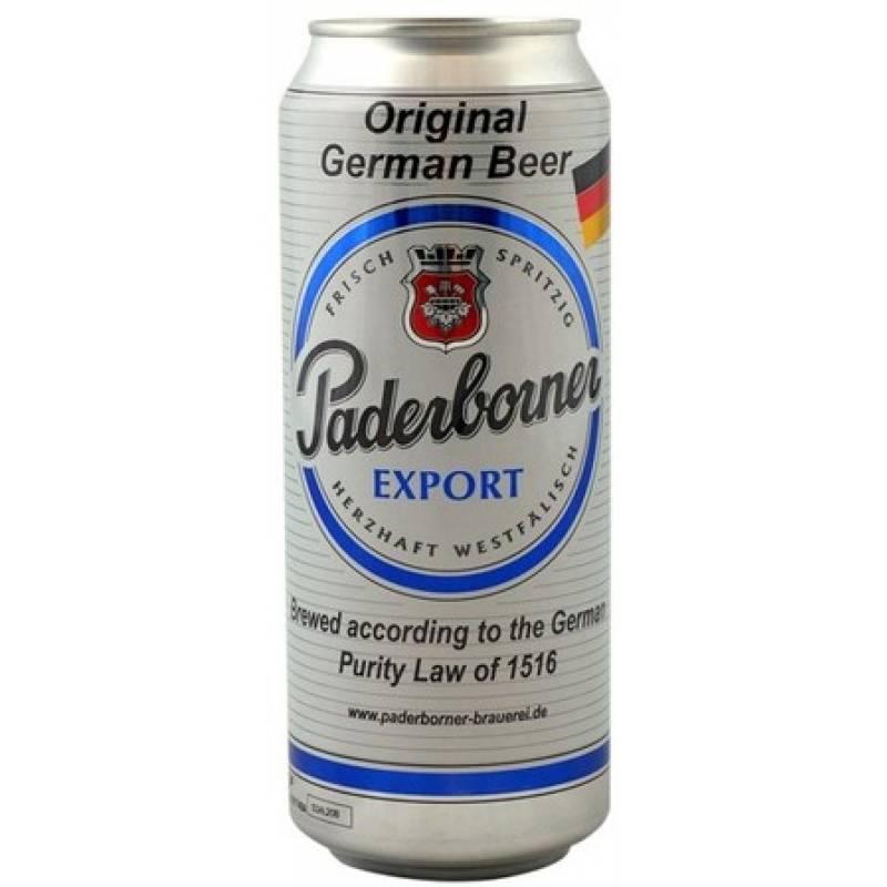Paderborner Export ж/б ( 0,5л ) Warsteiner Gruppe