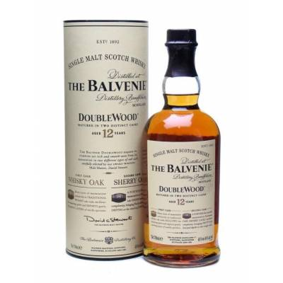 Balvenie Doublewood 12 Years Old, gift tube 0.7