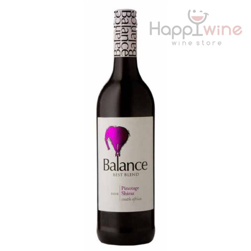 Balance Pinotage Shiraz ( 0,75л ) Overhex Wines - АРХИВ!!!