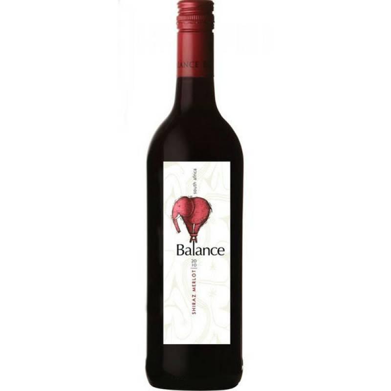 Balance Shiraz Merlot ( 0,75л ) Overhex Wines - АРХИВ!!!