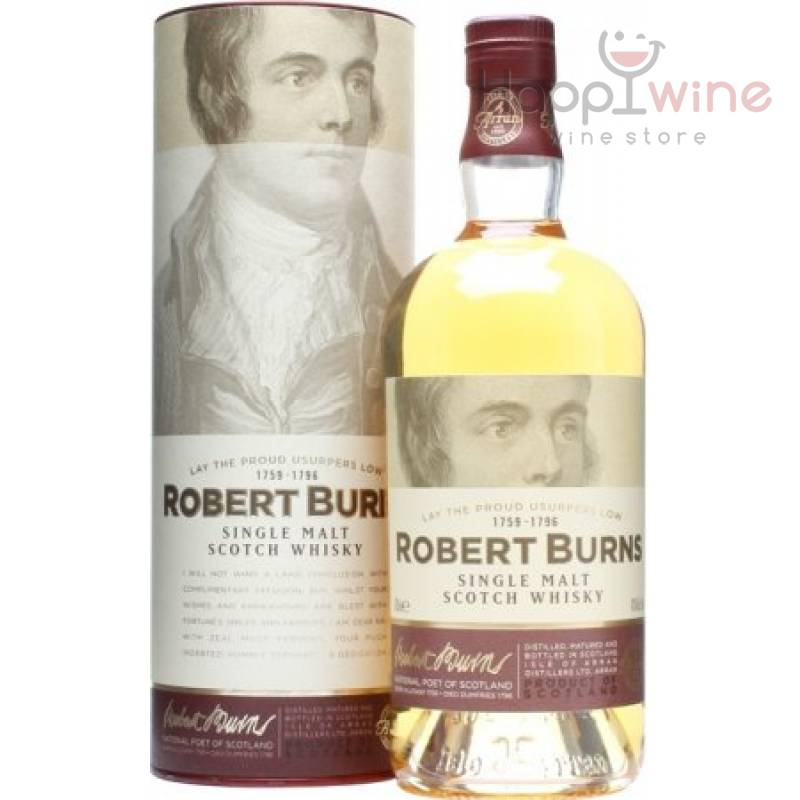 """Robert Burns"" - 0,7 л Isle of Arran Distillery - АРХИВ!!!"