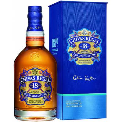 Chivas Regal 18 лет в коробке ( 0,7л )