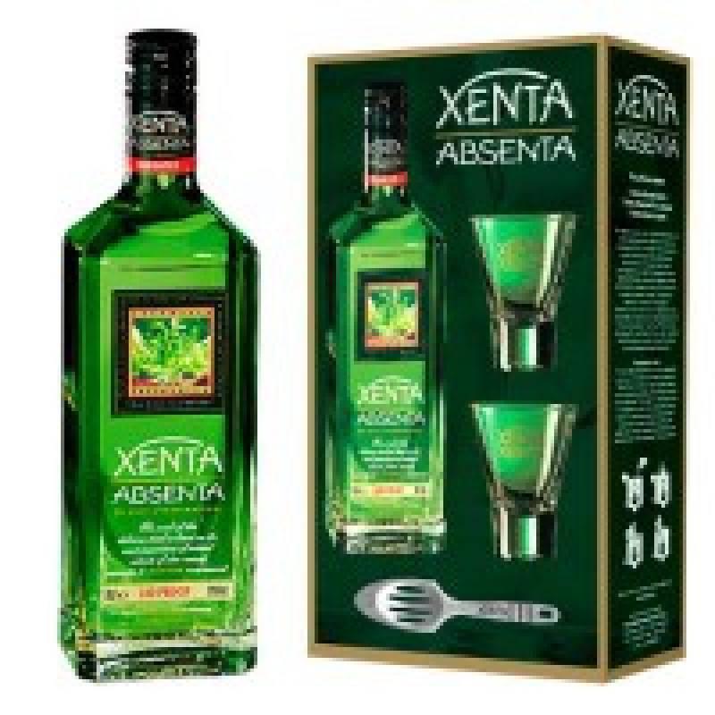 Absent Xenta 0,7л набор 2 ст. + ложка Torino Distillati S.r.l. - АРХИВ!!!