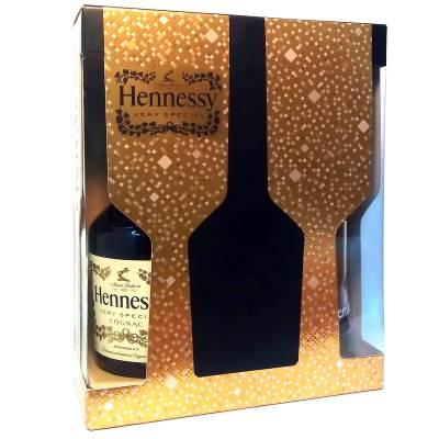 Hennessy VS 0,7л + 2 бокала