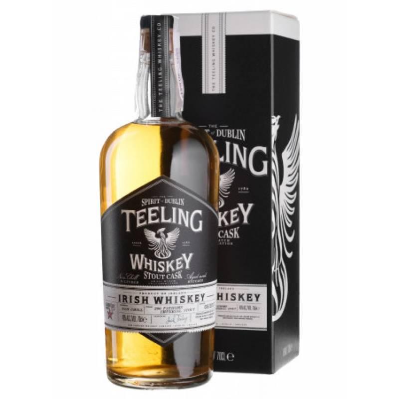Teeling Stout Cask, gift box - 0,7 л Teeling