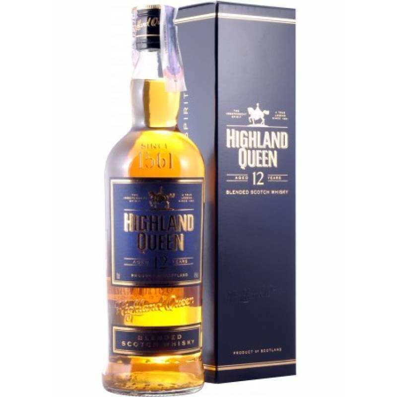 Highland Queen 12 yo, gift box - 0,75 л  The Glenmorangie Distillery Company Ltd