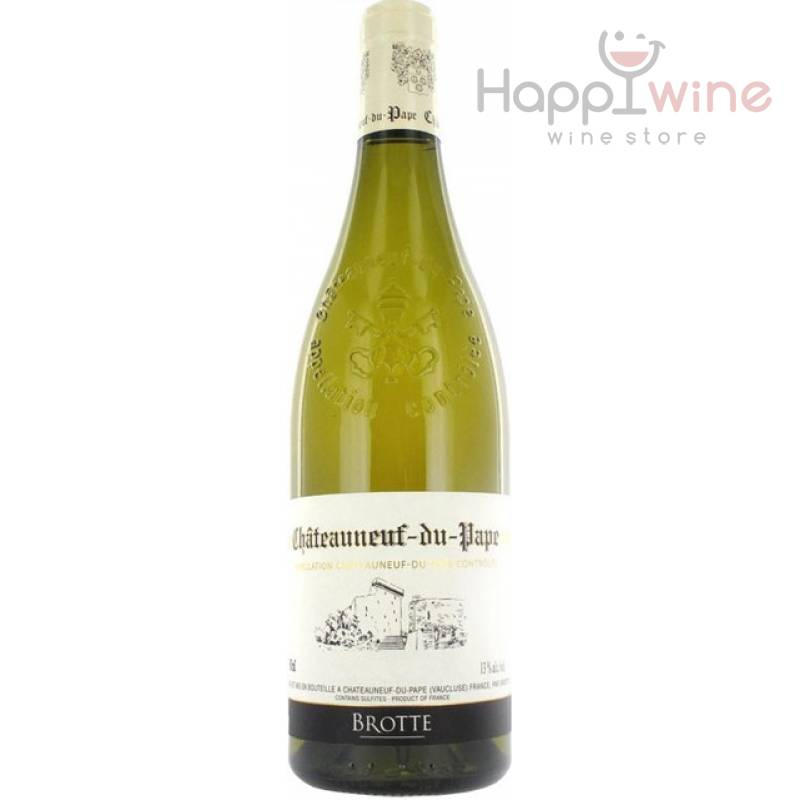 Brotte Chateauneuf-du-Pape, 2013 (0,75 л) Brotte - АРХИВ!!!