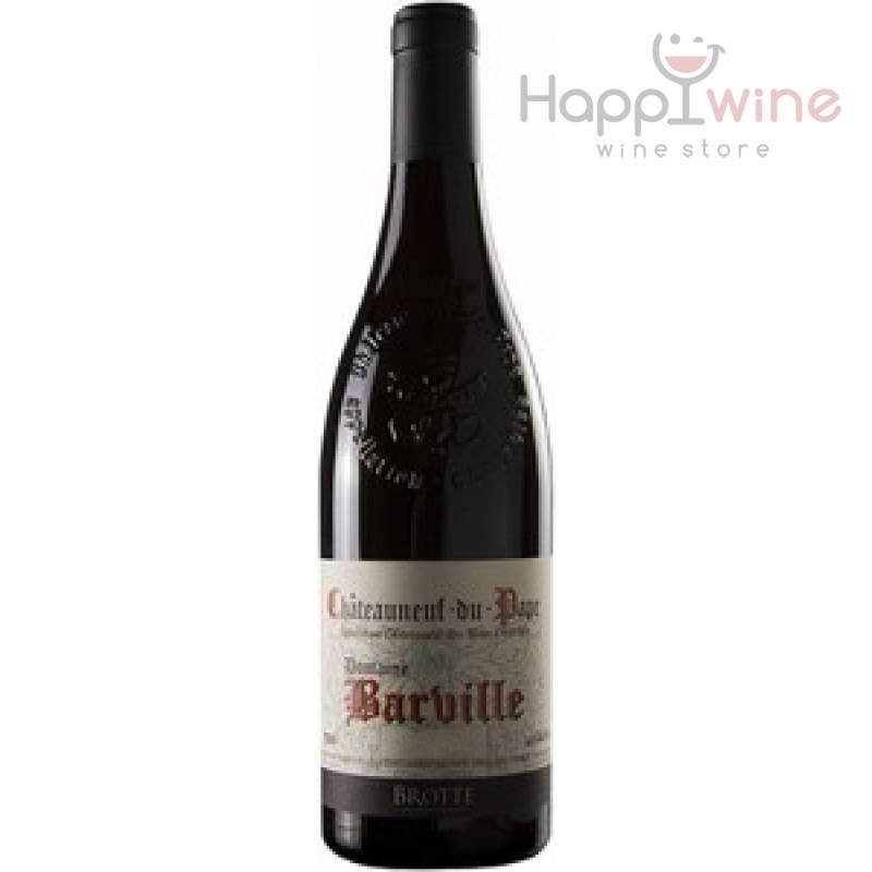 Brotte Domaine Barville Chateauneuf-du-Pape, 2011 (0,75 л) Brotte - АРХИВ!!!
