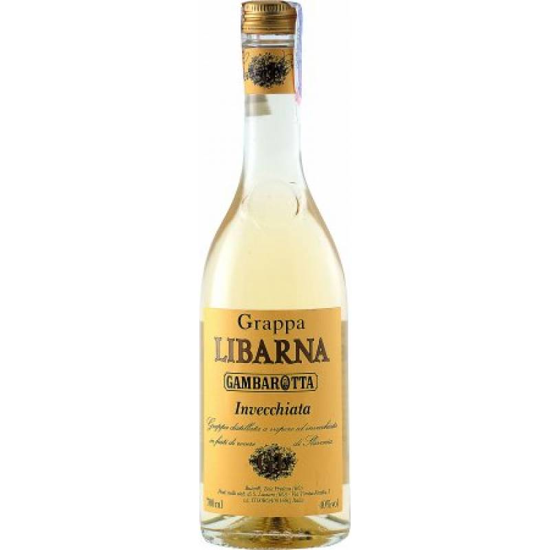 Grappa Libarna Invecchiata ( Граппа Либарна Инвеккиана ) 0,7 л