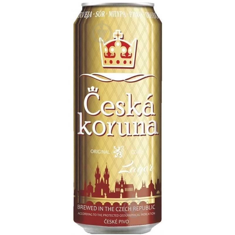 Ceska Koruna - 0,5 л ж/б