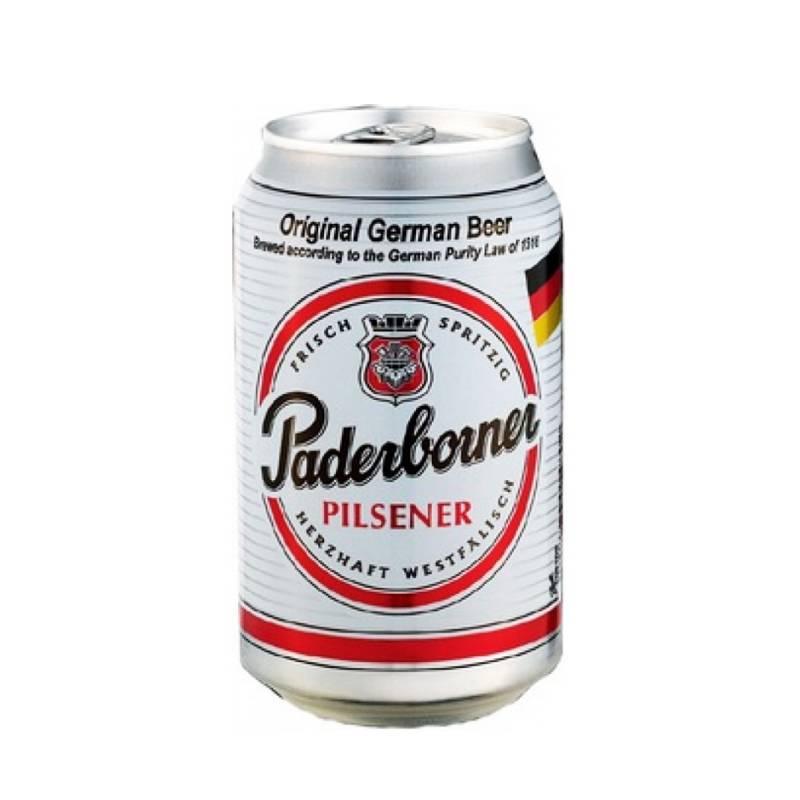 Paderborner Pilsеner ж/б ( 0,33л ) Warsteiner Gruppe - АРХИВ!!!