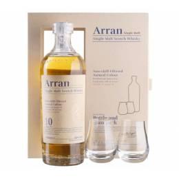 Arran 10yo + 2 glasses, gift box - 0,7 л