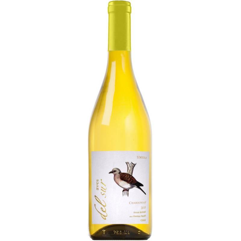 Aves del Sur Chardonnay - 0.75 л Vina Carta Vieja - АРХИВ!!!