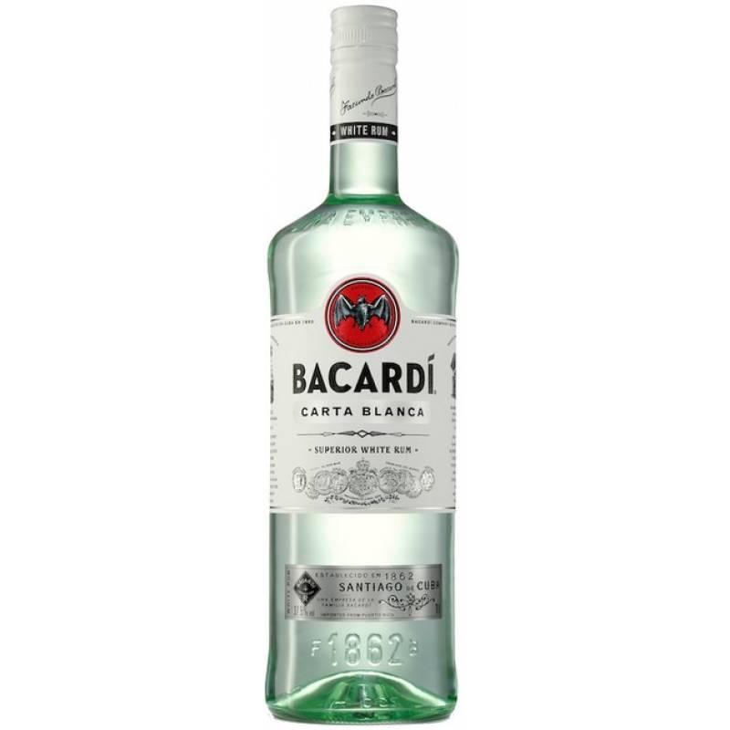 Bacardi Carta Blanca ( 1,0л ) Bacardi Limited - АРХИВ!!!