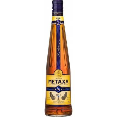 Metaxa 5* ( 1,0л )