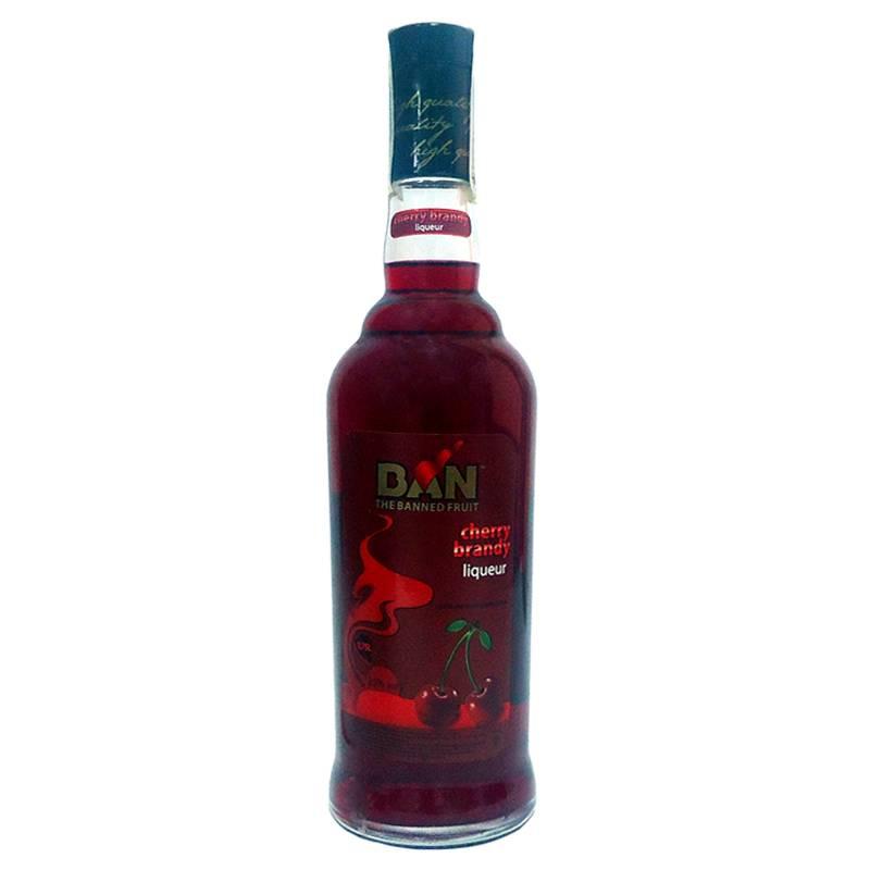 BAN Cherry Brandy ( вишневый бренди ) 0,75л ООО Симферопольский ВКЗ - АРХИВ!!!