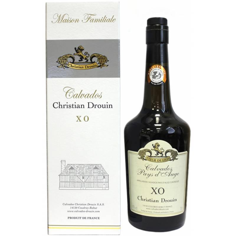 Calvados Coeur de Lion Pays d'Auge XO, gift box (0,7 л) Christian Drouin - АРХИВ!!!