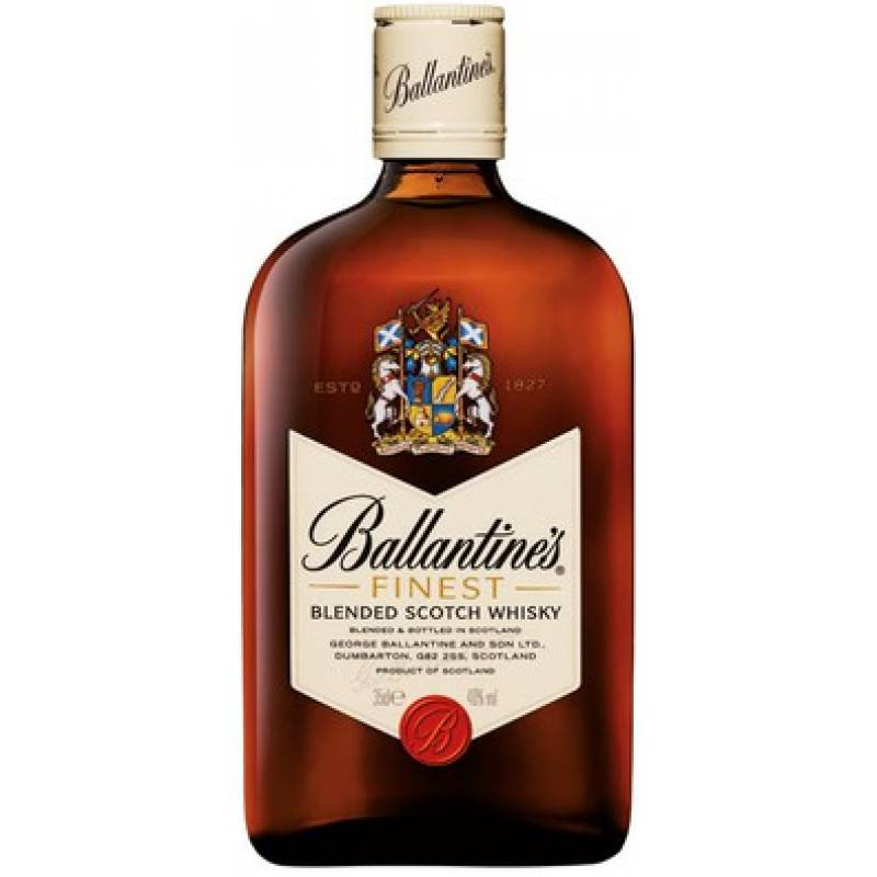 Ballantine's Finest - 0,375 л George Ballantine & Son Ltd - АРХИВ!!!