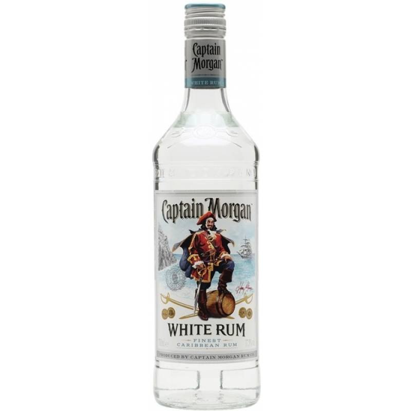 Captain Morgan White ( 1,0л ) Diageo (Диаджео)