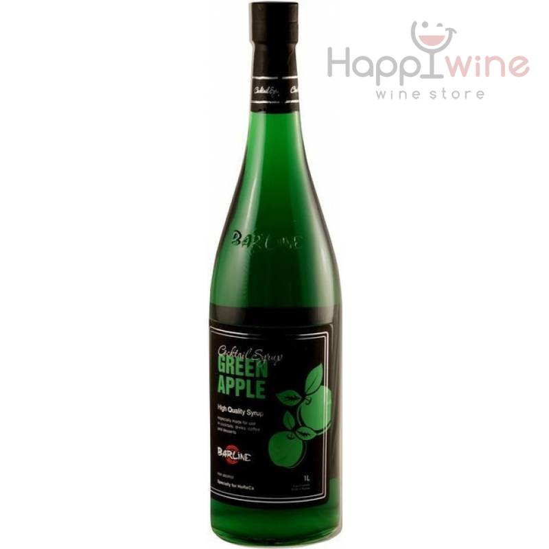 Barline Green Apple ( зеленое яблоко ) 1,0л ООО Свит Лайф - АРХИВ!!!