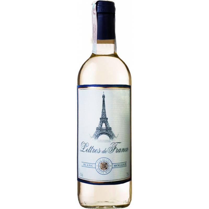 Blanc Moelleux - 0.75 л Lettres de France - АРХИВ!!!