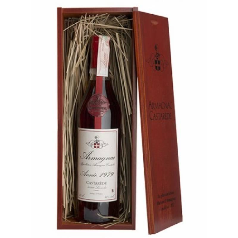 Armagnac Castarede, wooden box 1979 - 0,7 л Castarede