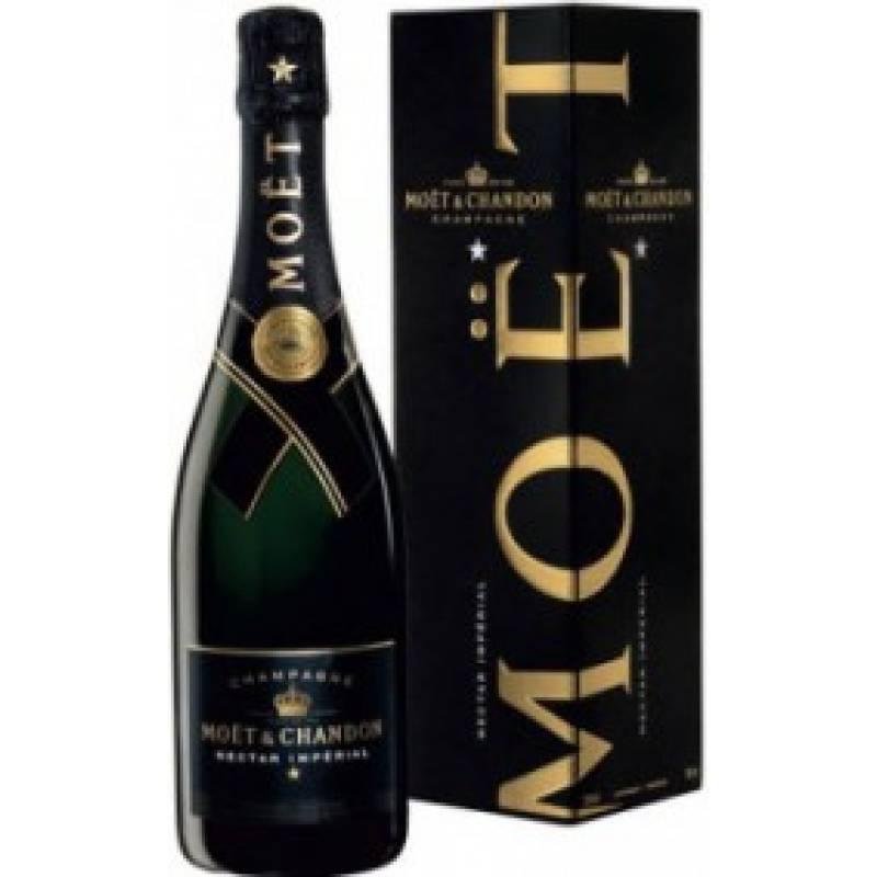 Moet & Chandon Nectar Imperial в коробке - 0,75 л  Champagne Moet & Chandon