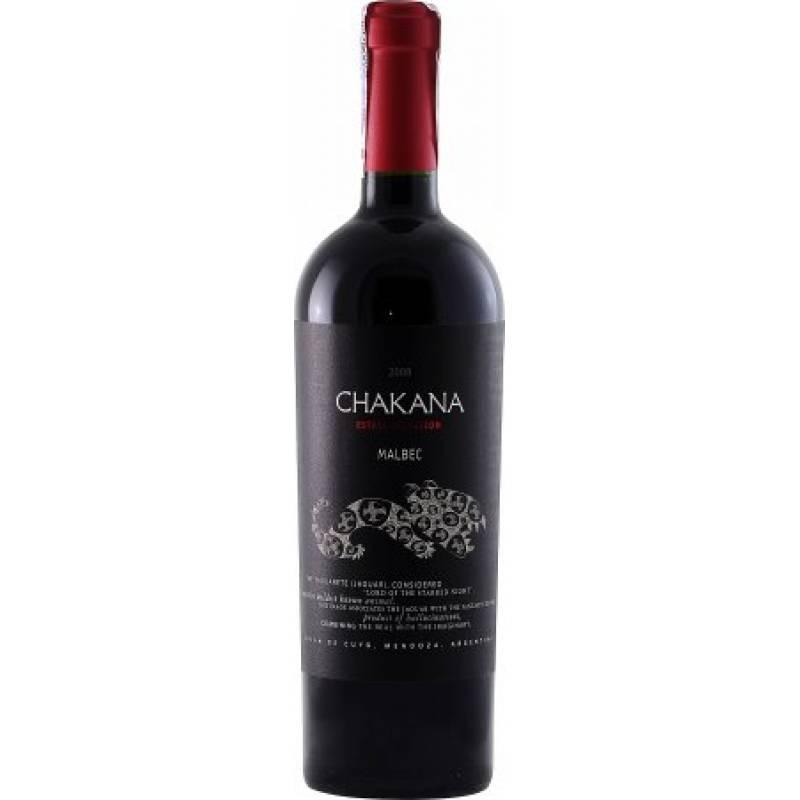 Chakana Estate Selection Malbec ( Chakana Естейт Селекшн Мальбек ) 0,75 л Chakana - АРХИВ!!!