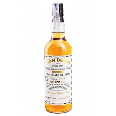 Clan Denny Grain Whisky 27л Old Strathclyde 1988 - 0,7 л