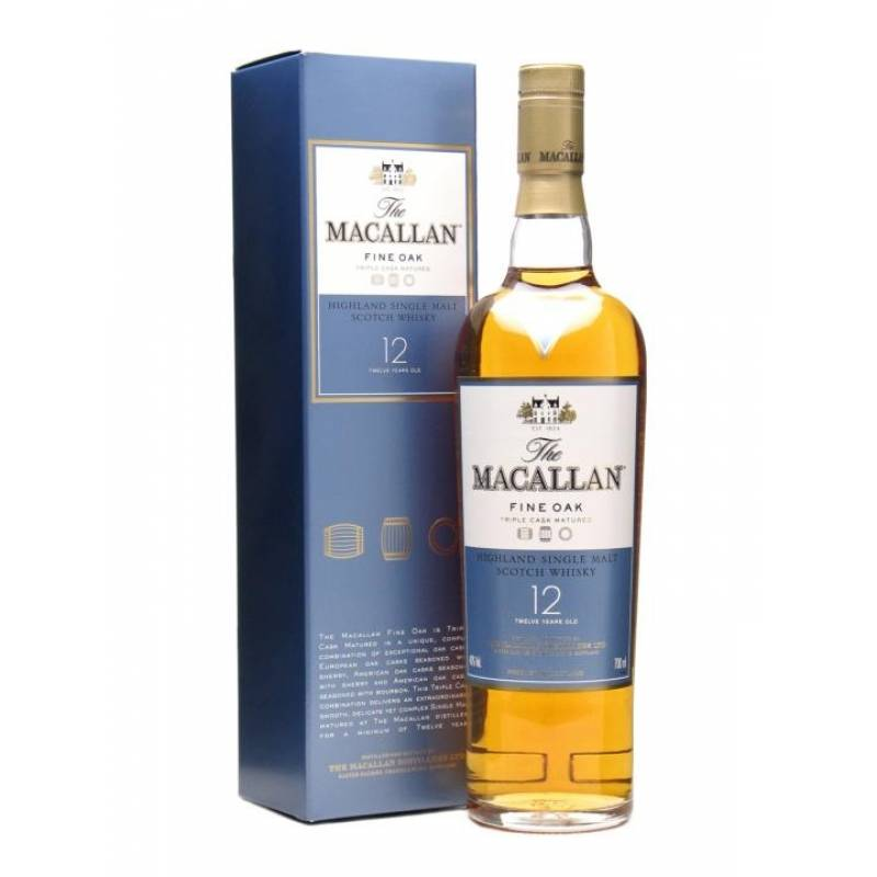 Macallan Fine Oak 12  Years Old - 0,7 л Macallan