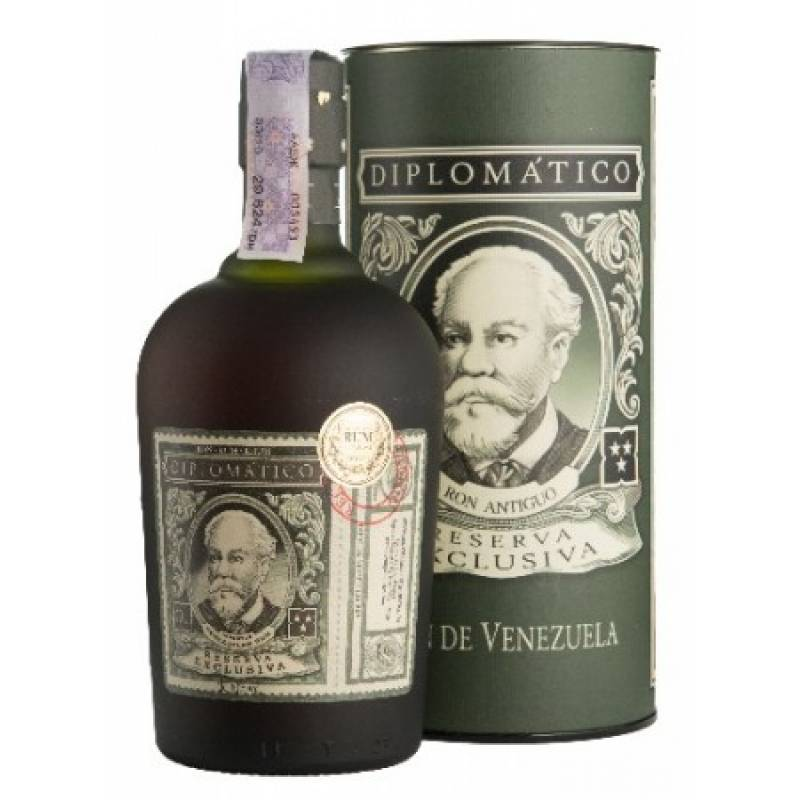 Diplomatico Reserva Exclusiva, gift box - 0,7 л  Diplomatico