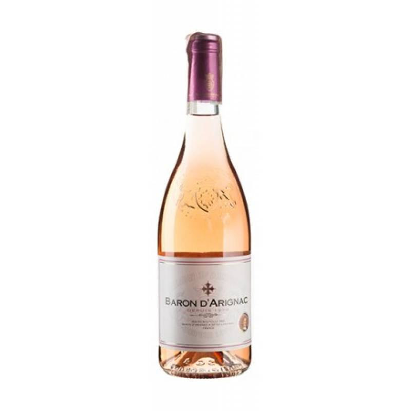 Baron d'Arignac Rose (  Baron d'Arignac Розе ) 0,75л  Les Grands Chais de France