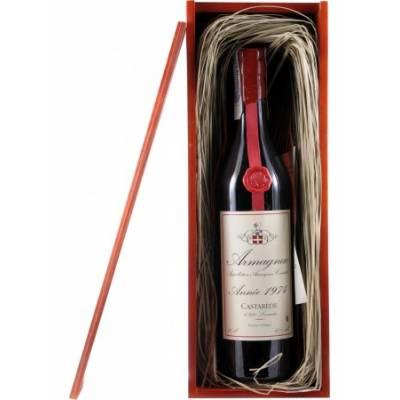 Armagnac Castarede, wooden box 1974 - (0,7 л)