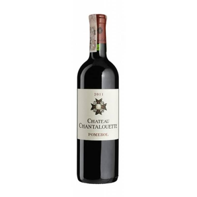 Chateau Chantalouette 2011 - 0,75 л Famille d'Amecourt - АРХИВ!!!