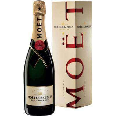 Moet & Chandon Brut Imperial в коробке - 0,75 л