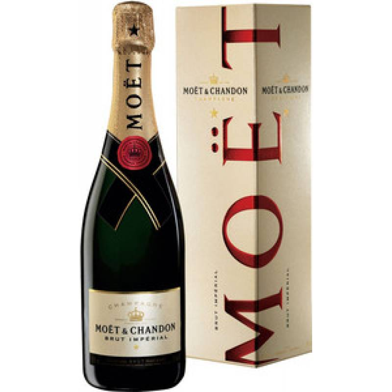 Moet & Chandon Brut Imperial в коробке - 0,75 л  Champagne Moet & Chandon
