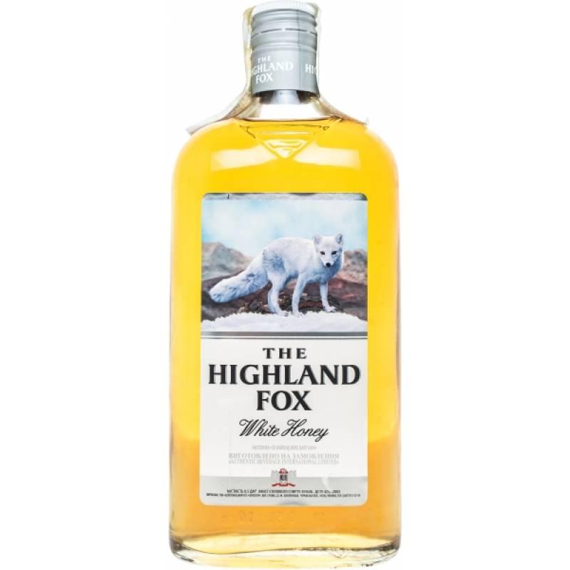 The Highland Fox White Honey ( 0,25л ) Золотоношский ЛВЗ