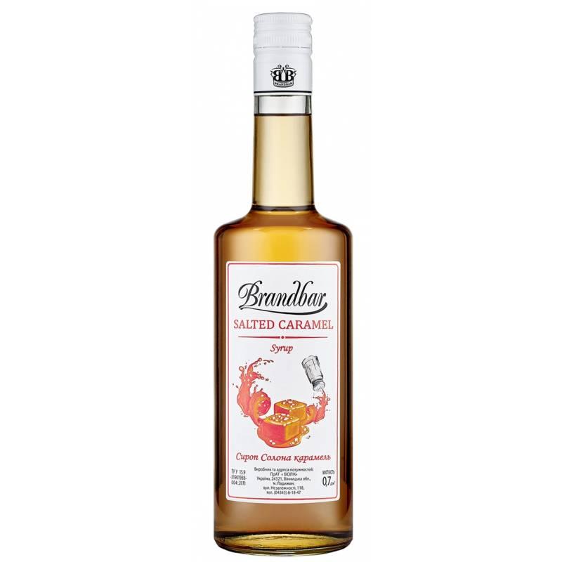 Brandbar Соленая Карамель - 0,7 л Brandbar
