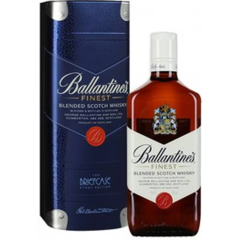 Ballantine's Finest в металической коробке ( 0,75л ) George Ballantine & Son Ltd - АРХИВ!!!