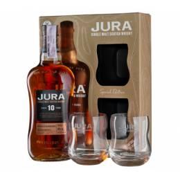 Isle of Jura 10yo + 2 glasses, gift box 0,7 л