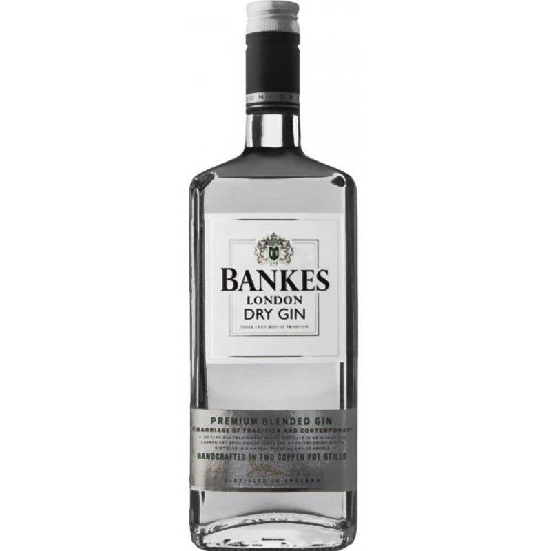Bankes London Dry Gin - 1 л - АРХИВ!!!