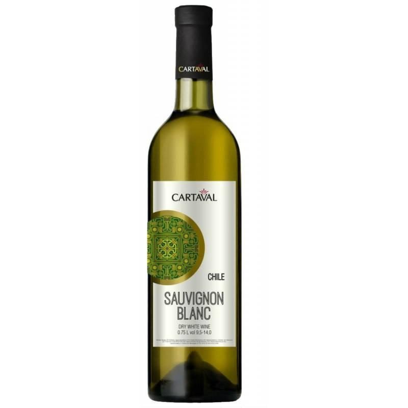 Cartaval Sauvignon Blanc - 0,75 л ЧАО Коблево - АРХИВ!!!