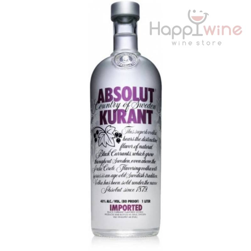 Absolut Kurant - 0,7 л The Absolut Company AB - АРХИВ!!!