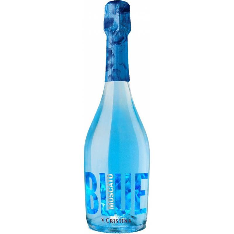 Vega Cristina Blue Moscato ( голубое ) - 0,75 л V.Cristina - АРХИВ!!!