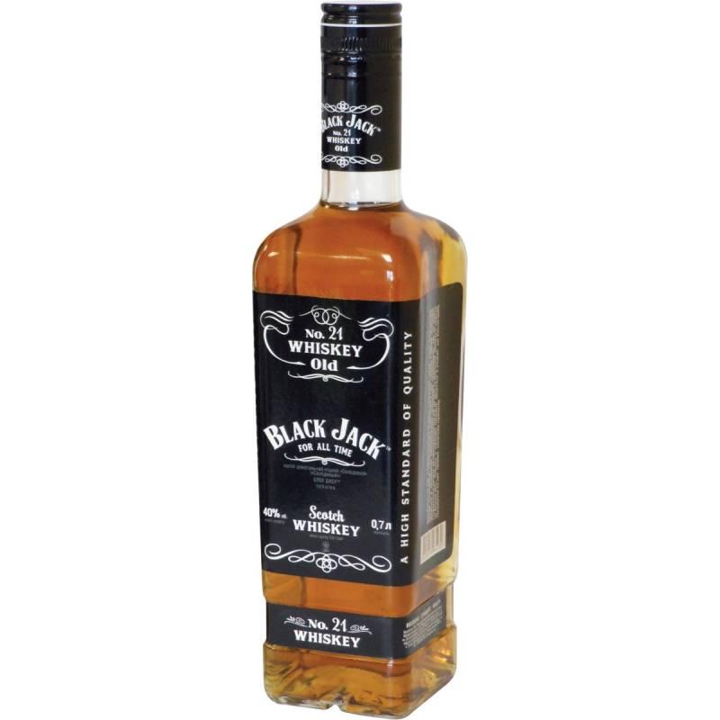 BLACK JACK SILVER ( 0,7л ) ООО Симферопольский ВКЗ - АРХИВ!!!