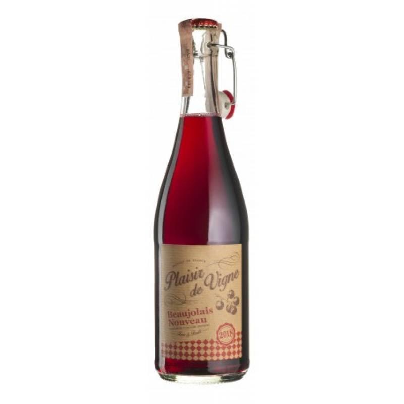 Beaujolais Nouveau - 0,75 л  Plaisir De Vigne - АРХИВ!!!